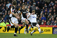 Photo: Pete Lorence.<br />Derby County v Hull City. Coca Cola Championship. 10/02/2007.<br />Stephen Pearson crosses the ball in which Gary Teale converts to take Derby into the lead.