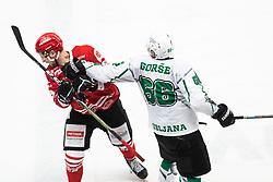 GORSE Enes during Alps League Ice Hockey match between HDD SIJ Jesenice and HK SZ Olimpija on March 2, 2020 in Ice Arena Podmezakla, Jesenice, Slovenia. Photo by Peter Podobnik / Sportida