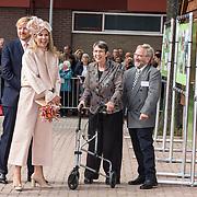 NLD/Hoogeveen/20190918 - Koningspaar brengt bezoek Zuid-west Drenthe,  Koning Willem Alexander en Koningin Maxima bezoeken De Wolden: T Groene Hart