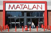 Matalan clothing store, Orwell Retail Park, Ranelagh Road, Ipswich, Suffolk, England