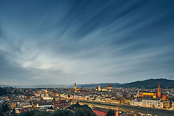 January 15, 2016 - ''High angle cityscape from Piazzale Michelangelo, Florence, Italy' (Credit Image: © Cultura via ZUMA Press)