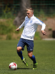 England U21 captain James Ward-Prowse during the training session at the Stadion Kusocinskiego in Kielce, Poland. PRESS ASSOCIATION Photo. Picture date: Thursday June 15, 2017. See PA story SOCCER England U21. Photo credit should read: Nick Potts/PA Wire. RESTRICTIONS: Editorial use only, No commercial use without prior permission.