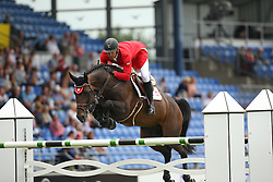 Ludwiczak Krysztof, (POL), Zoweja<br /> Team Competition round 1 and Individual Competition round 1<br /> FEI European Championships - Aachen 2015<br /> © Hippo Foto - Stefan Lafrentz<br /> 19/08/15