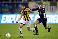 seizoen 2010 / 2011  arnhem 12-12-2010 vitesse - ajax 0-1 ismael aissati en demy de zeeuw