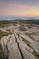 View south from summit of Cadillac Mountain, Acadia National Park