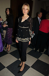 LADY CLARE KERR at the annual House of Lords and House of Commons Parliamentary Palace of Varieties in aid of Macmillan Cancer Support held at St.John's Smith Square, London W1 on 1st February 2007.<br /><br />NON EXCLUSIVE - WORLD RIGHTS
