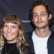 NLD/Utrecht/20171016 - Premiere Nieuwe Familie, Sophie Dros en ...........