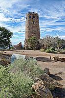 Desert View Watchtower, Grand Canyon National Park, Arizona, USA.