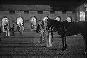 OLIVIA WOODHEAD; ; MADISON BRIGGS;  Oxford University Polo club Ball, Blenheim Palace. Woodstock. 6 March 2015