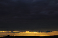 Steppe evening, La Serena, Extremadura, Spain