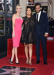 Victoria Beckham at the Walk of Fame honors Eva Longoria event at Chinese Theatre on April16, 2018 in Hollywood, CA. 16 Apr 2018 Pictured: Anna Faris, Eva Longoria and Eugenio Derbez. Photo credit: Janet Gough/AFF-USA.com / MEGA TheMegaAgency.com +1 888 505 6342
