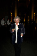 Maggi Hambling. Francis Bacon opening private view and dinner. Tate Britain. 8 September 2008 *** Local Caption *** -DO NOT ARCHIVE-© Copyright Photograph by Dafydd Jones. 248 Clapham Rd. London SW9 0PZ. Tel 0207 820 0771. www.dafjones.com.
