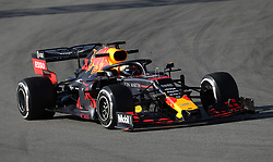 File photo dated 18-02-2019 of Red Bull's Max Verstappen.