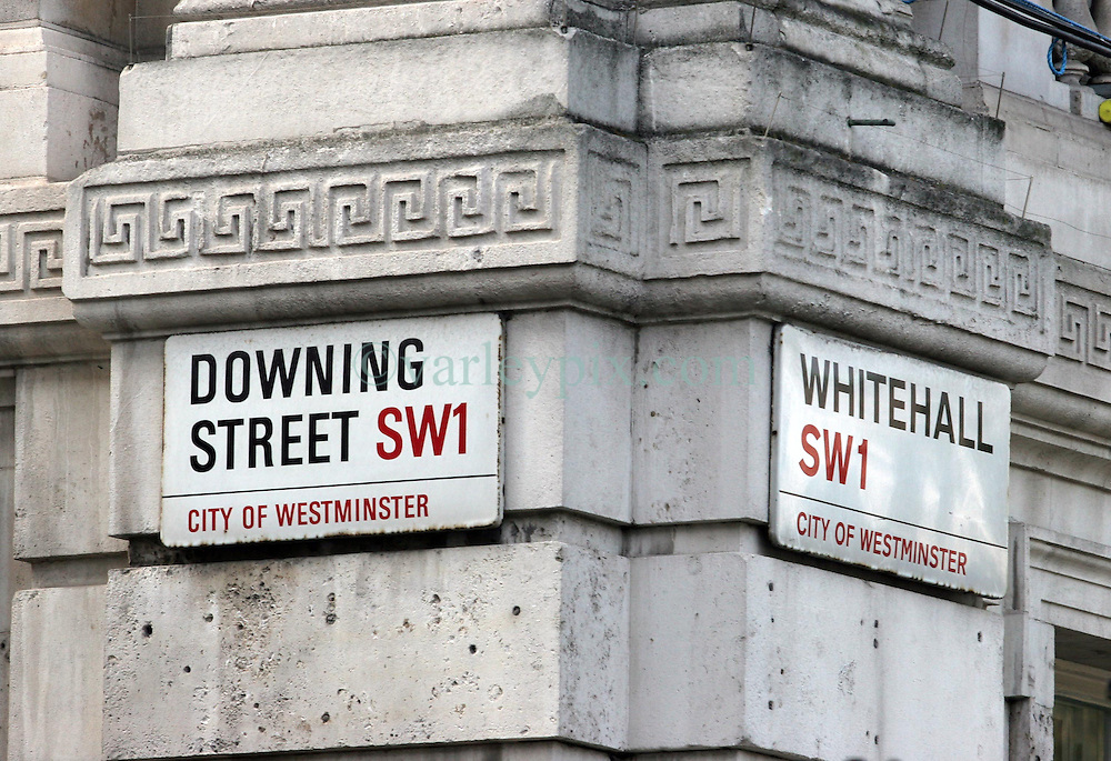 21 April 2011. London, England..Downing Street, official residence of the Prime Minister and other senior Government officials..Photo; Charlie Varley.