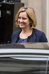 London, December 05 2017. Home Secretary Amber Rudd leaves 10 Downing Street following the weekly cabinet meeting. © Paul Davey