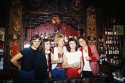 May 1, 1979 - Hollywood, California, U.S. - The Babys photographed at the punk venue & restaurant Madame Wong's in Chinatown in Los Angeles, CA. May, 1979 ** NO ITALY  (Credit Image: © Armando Gallo via ZUMA Studio)
