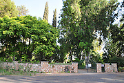Israel, Upper Galilee, Kibbutz Dafna (founded on 3 May 1939). The cemetery