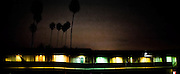 MOTEL AT NIGHT, VENTURA, CALIFORNIA<br /> <br /> Also available as a limited edition backlit print in bespoke frame lightbox. London only - please contact Matt directly to order.