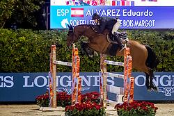 Alvarez Aznar Eduardo, ESP, Rokfeller de Pleville Bois Margot<br /> Longines FEI Jumping Nations Cup Final<br /> Challenge Cup - Barcelona 2019<br /> © Dirk Caremans<br />  05/10/2019