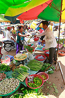 street food market-Stung Treng, Cambodia