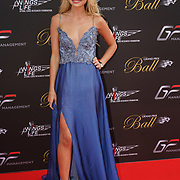 Hurlingham Club ,London, England, UK. 10th July, 2017. Georgia Toffolo - Made in Chelsea attend The Grand Prix Ball attracted a host of star-studded celebrity guests last night at Hurlingham Club , including Formula 1 drivers as well as iconic Formula 1 cars. Guests mingled with the elite whist being enterained with live performances by award winning UK artists and DJs ahead of the British Grand Prix at Silverstone.