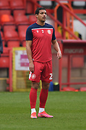 portrait Stevenage defender Luther Wildin (2)  during the EFL Sky Bet League 2 match between Stevenage and Carlisle United at the Lamex Stadium, Stevenage, England on 20 March 2021.