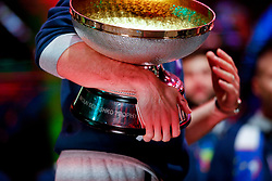 September 18, 2017 - Ljubljana, Slovenia, Slovenia - Goran Dragic with trophy in his hand after Slovenian basketball team historical win in European Championship in Istanbul on September 18, 2017 in Ljubljana, Slovenia. (Credit Image: © Damjan Zibert/NurPhoto via ZUMA Press)