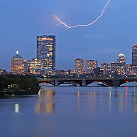City of Boston skyline photography at twilight showing landmarks such as John Hancock building, Prudential Center and Longfellow Bridge while thunder and lightning move through the composition.<br /> <br /> Skyline photography images of Boston are available as museum quality photography prints, canvas prints, acrylic prints or metal prints. Prints may be framed and matted to the individual liking and decorating needs:<br /> <br /> http://juergen-roth.artistwebsites.com/featured/electric-boston-juergen-roth.html<br /> <br /> Good light and happy photo making!<br /> <br /> My best,<br /> <br /> Juergen<br /> www.RothGalleries.com<br /> www.ExploringTheLight.com<br /> http://whereintheworldisjuergen.blogspot.com<br /> https://www.facebook.com/naturefineart<br /> @NatureFineArt