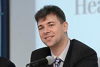 "06 DEC 2006, BERLIN/GERMANY:<br /> Grzegorz Jankiewicz, Finance and Administration Director, Adamed Ltd., Konferenz der Financial Times Deutschland ""International Healthcare Business"", Bertelsmann Hauptstadtrepraesentanz<br /> IMAGE: 20061206-01-050<br /> KEYWORDS: FTD"