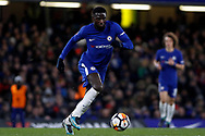 Tiemoue Bakayoko of Chelsea in action. The Emirates FA Cup, 3rd round replay match, Chelsea v Norwich City at Stamford Bridge in London on Wednesday 17th January 2018.<br /> pic by Steffan Bowen, Andrew Orchard sports photography.