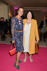 Left to right, YASMIN LE BON and her mother in law ANN-MARIE LE BON at the Future Dreams 'United For Her' Ladies Lunch 2016 held at The Savoy, London on 10th October 2016.