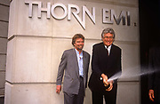 Richard Branson publicises the sale of his Virgin Music business to Thorn EMI, in June 1992, London England. Virgin Records was sold by Branson to Thorn EMI in June 1992 for a reported US$1 billion around £560 million.