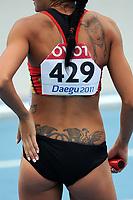 ATHLETICS - IAAF WORLD CHAMPIONSHIPS 2011 - DAEGU (KOR) - DAY 7 - 02/09/2011 - WOMEN 4X400M RELAY - TEAM GERMANY - PHOTO : FRANCK FAUGERE / KMSP / DPPI