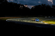 Wolf Henzler, Bryan Sellers and Martin Ragginger, Team Falken Tire (GT) Porsche 911 GT3 RSR, Petit Le Mans. Oct 18-20, 2012. © Jamey Price
