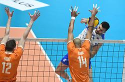 02-01-2020 SLO: Slovenia - Netherlands, Maribor<br /> Mitja Gasparini od Slovenia during friendly volleyball match between National Men teams of Slovenia and Netherlands
