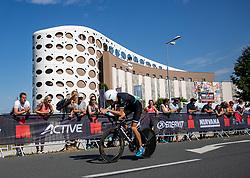07.07.2019, Klagenfurt, AUT, Ironman Austria, Radfahren, im Bild Christoph Schlagbauer (AUT) // Christoph Schlagbauer (AUT) during the bike competition of the Ironman Austria in Klagenfurt, Austria on 2019/07/07. EXPA Pictures © 2019, PhotoCredit: EXPA/ Johann Groder