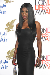 © Licensed to London News Pictures. 08/10/2014, UK. Heather Small, London Lifestyle Awards 2014, The Troxy, London UK, 08 October 2014. Photo credit : Brett D. Cove/Piqtured/LNP