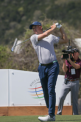 March 21, 2018 - Austin, TX, U.S. - AUSTIN, TX - MARCH 21: Jordan Spieth (USA) hits from the 13th tee during the First Round of the WGC-Dell Technologies Match Play on March 21, 2018 at Austin Country Club in Austin, TX. (Photo by George Walker/Icon Sportswire) (Credit Image: © George Walker/Icon SMI via ZUMA Press)