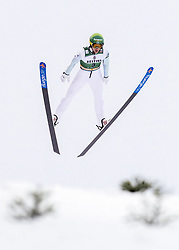 February 8, 2019 - Lahti, Finland - Atte Kettunen competes during Nordic Combined, PCR/Qualification at Lahti Ski Games in Lahti, Finland on 8 February 2019. (Credit Image: © Antti Yrjonen/NurPhoto via ZUMA Press)