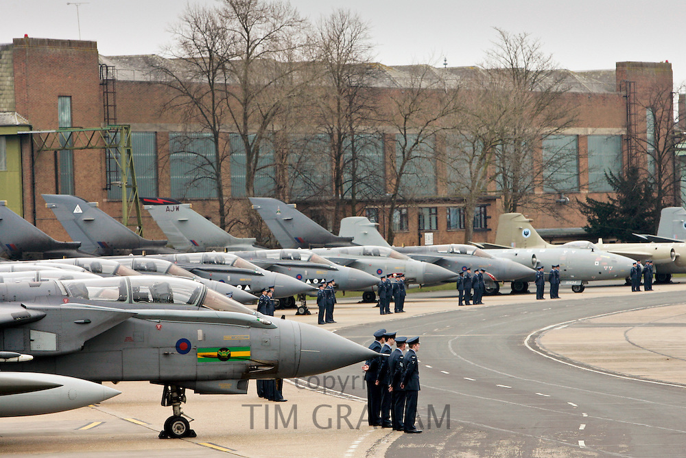 Marham Wing GR4 Tornadoes at RAF Marham, Norfolk, United Kingdom