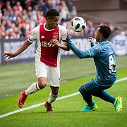 NLD/Amsterdam/20180408 - Ajax - Heracles, David Neres vs Duarte
