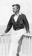 Eugene Gladstone O'Neil (1888-1953) American playwright.