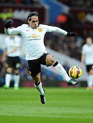 Manchester United's Radamel Falcao Garcia  - Photo mandatory by-line: Joe Meredith/JMP - Mobile: 07966 386802 - 20/12/2014 - SPORT - football - Birmingham - Villa Park - Aston Villa v Manchester United - Barclays Premier League