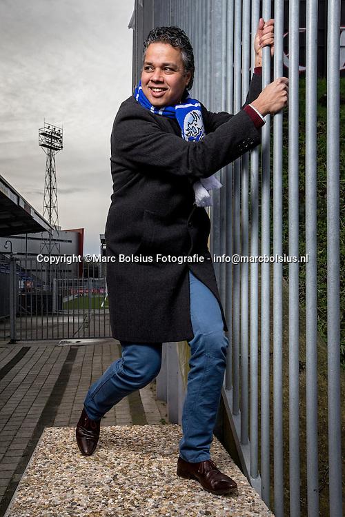 Den Bosch,oud prof voetballer van Willem 2 en Helmond sport en lid van de raad van commissarissen van Fc Den Bosch Marc Latupeirissa