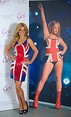 Gerri Halliwell Union Jack collection launch
