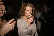 DANNI MINOGUE, Luella Bartley Dinner, Nobu, Berkeley St. 16 May 2006. ONE TIME USE ONLY - DO NOT ARCHIVE  © Copyright Photograph by Dafydd Jones 66 Stockwell Park Rd. London SW9 0DA Tel 020 7733 0108 www.dafjones.com