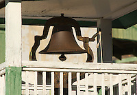 Bell atop the one-room schoolhouse at Ryan, California, a 1920s mining camp in the Greenwater Range on the Eastern edge of Death Valley