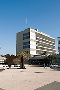Israel, Tel Aviv, The District courthouse In Shaul Hamelech Boulevard
