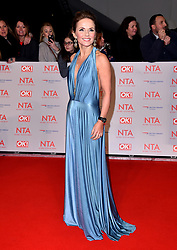 Geri Horner attending the National Television Awards 2018 held at the O2 Arena, London.