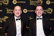 Uitreiking Gouden Televizier-Ring Gala 2018.<br /> <br /> OP de foto:  Ko en Sjef , zoons Lies Visschedijk